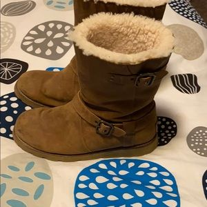 Ugg boots women's size 8 brown leather